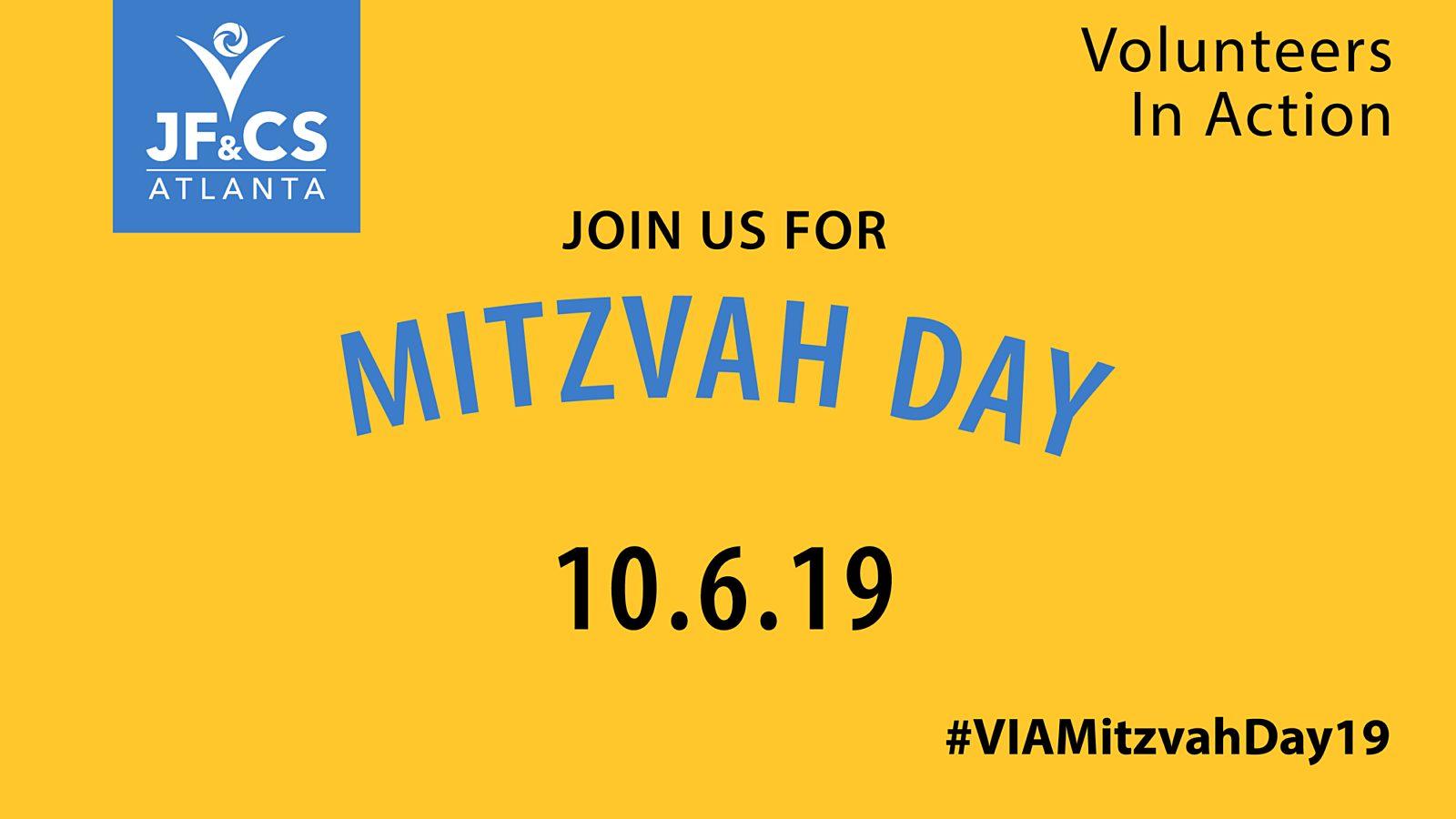 Mitzvah Day 2019