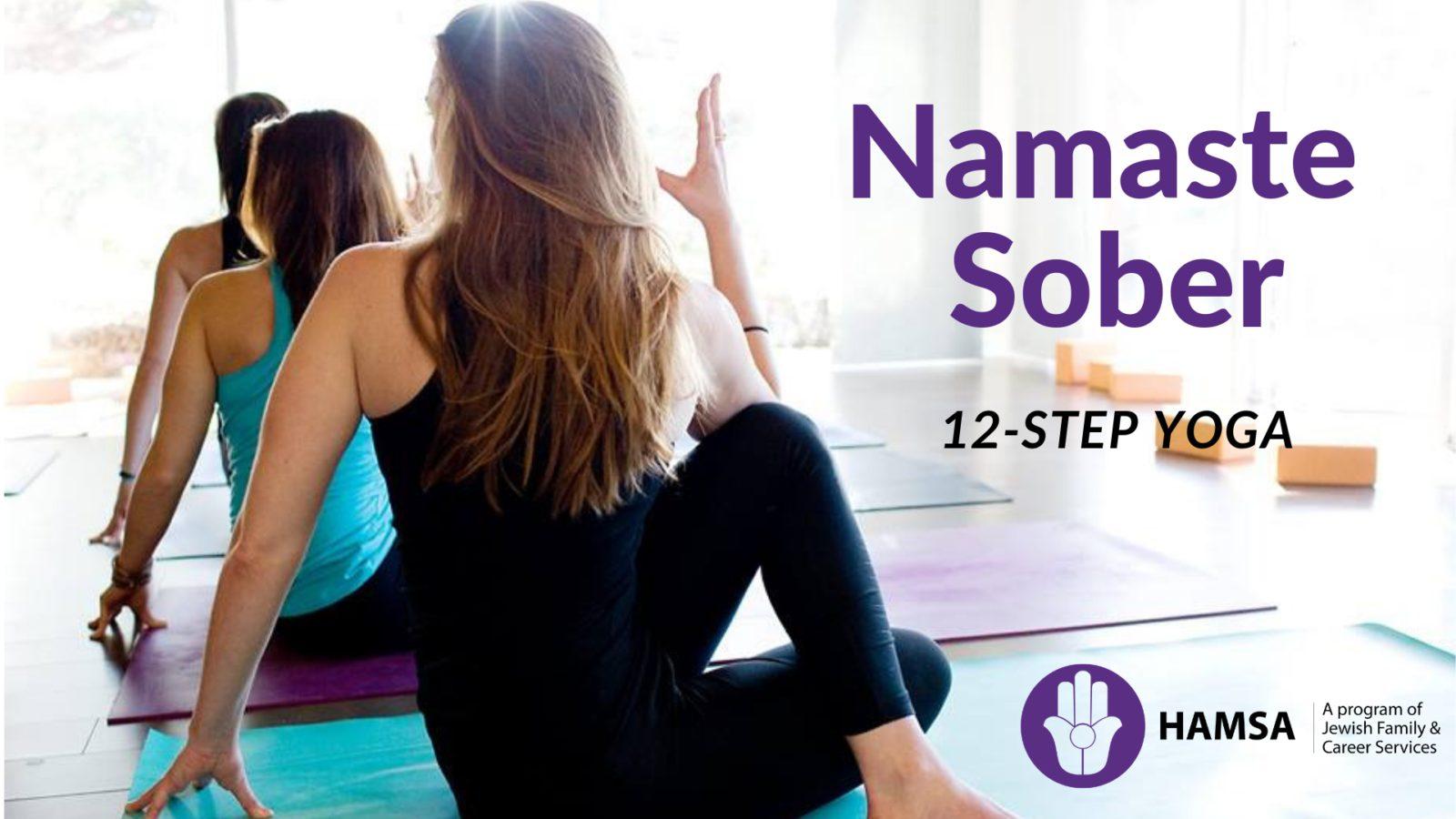 Namaste Sober 12-Step Yoga