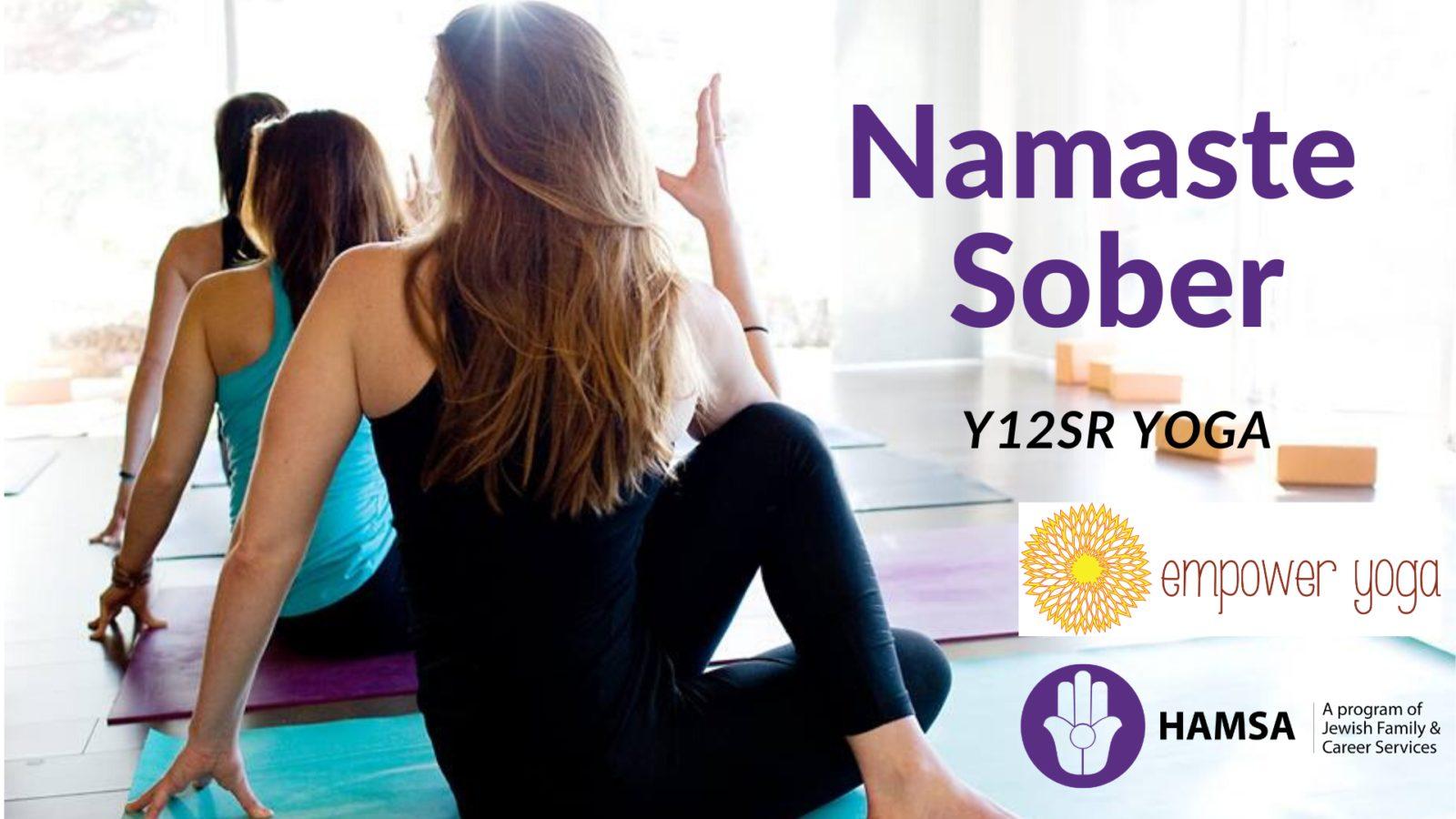 Namaste Sober - 12 Step Yoga