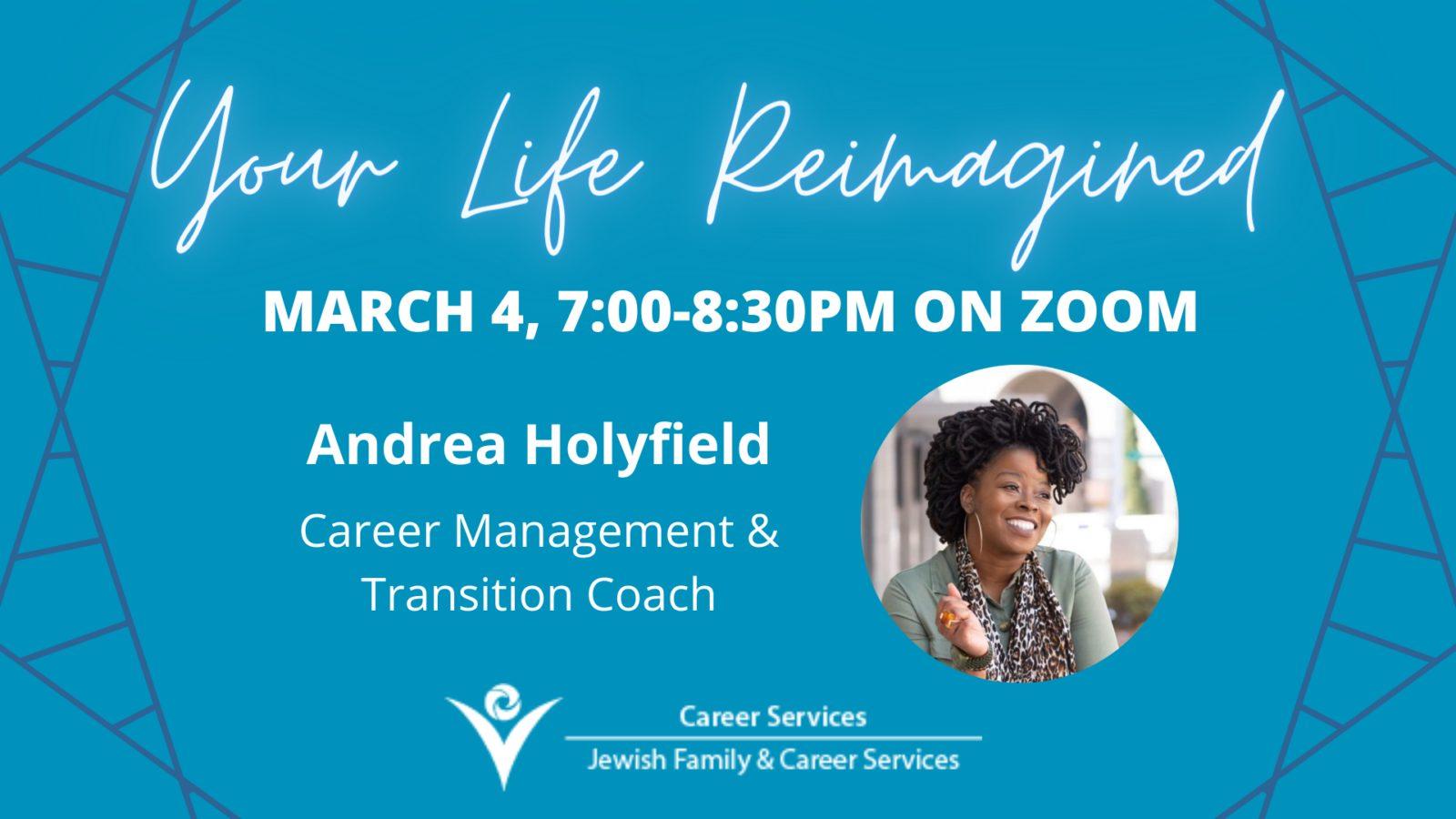 Speaker Event: Your Life Reimagined!