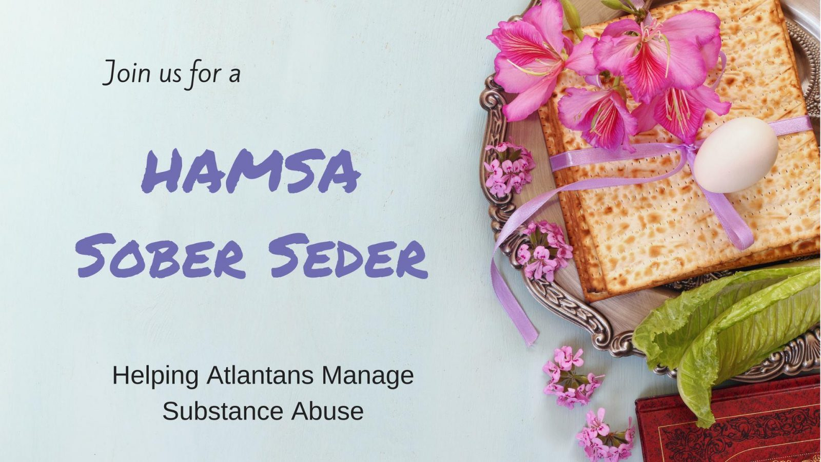 CANCELED: HAMSA SOBER SEDER