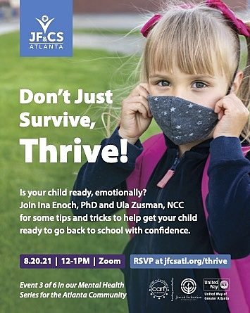Back to School: Don't Just Survive, Thrive!