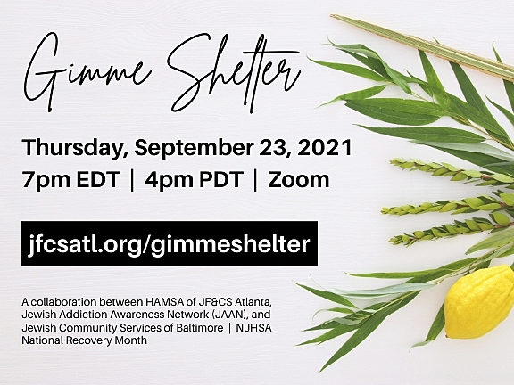 Gimme Shelter: Building Space for Recovery in the Jewish Community