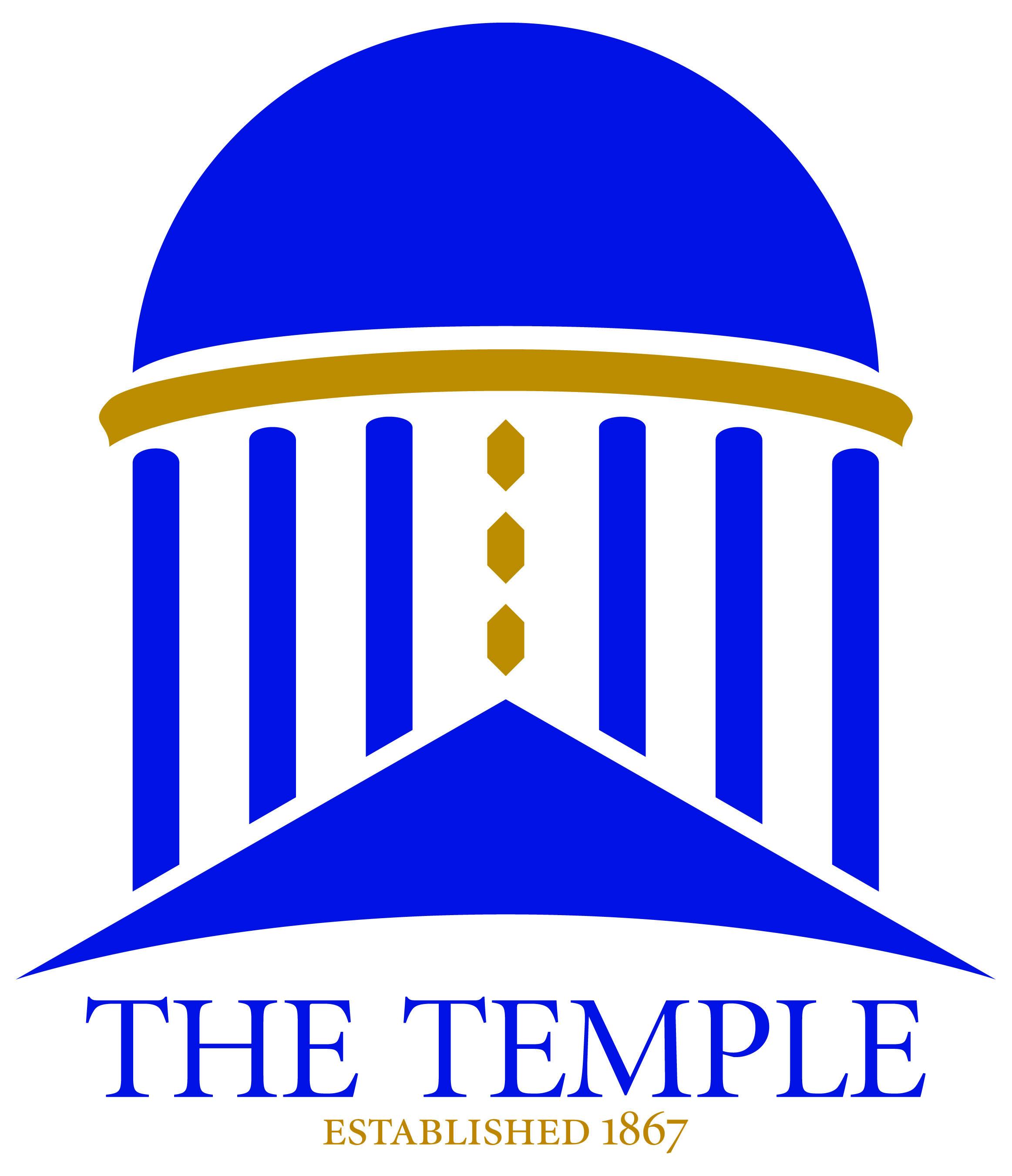 Logo The Temple 2color