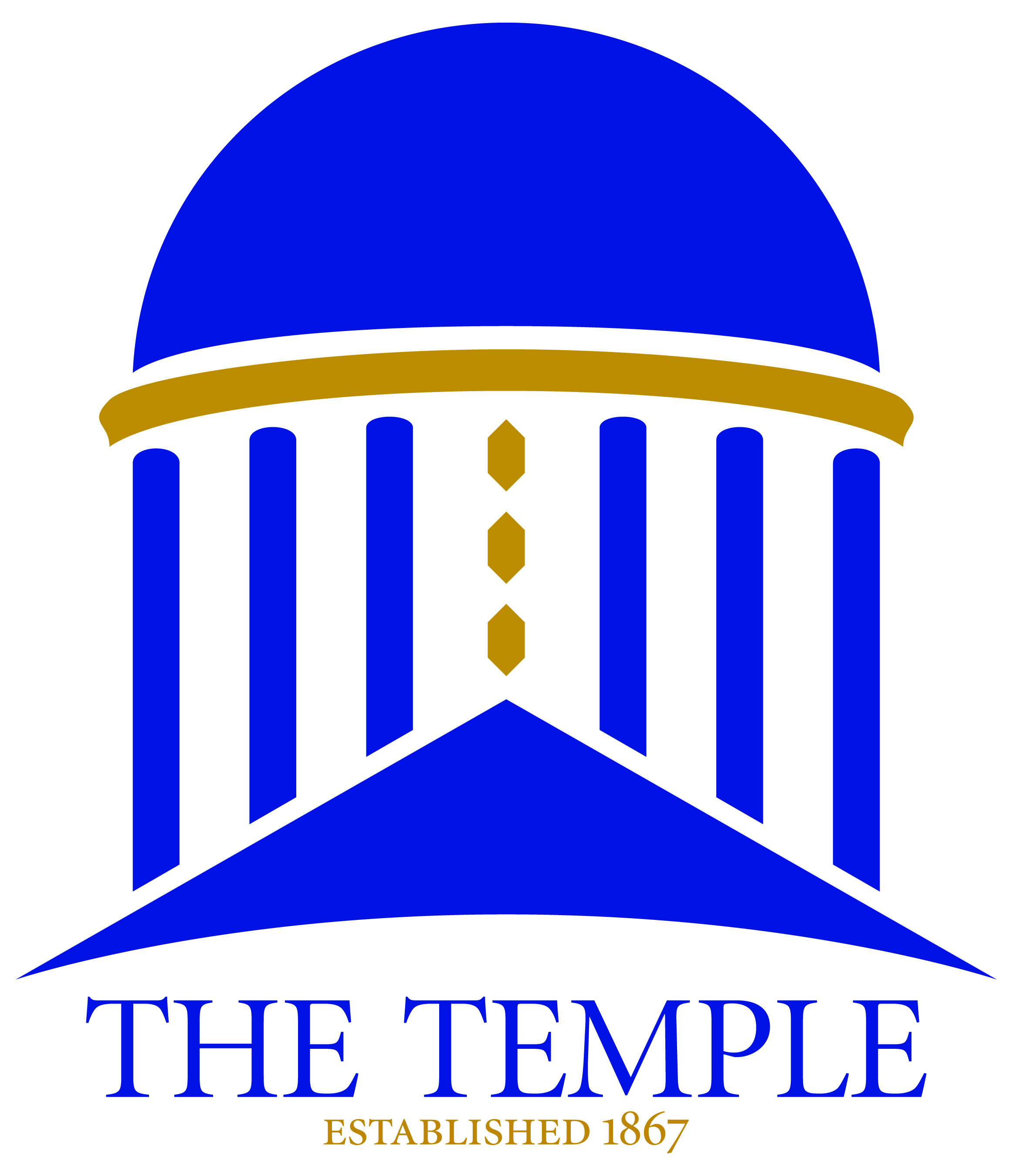 Logo The Temple 2color