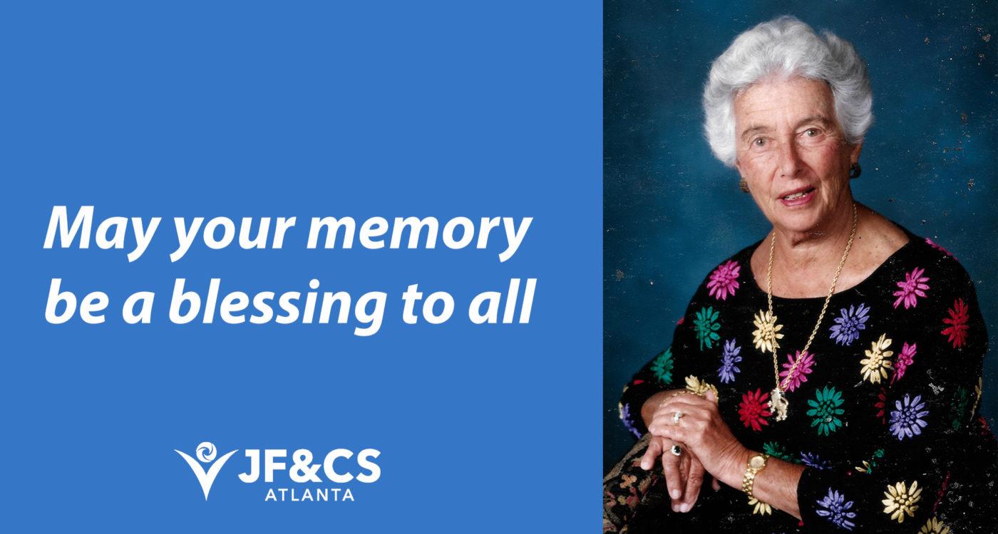 A Lasting Legacy:FrancesBunzl FamilyTrustGifts $5.6M to Atlanta Jewish Community