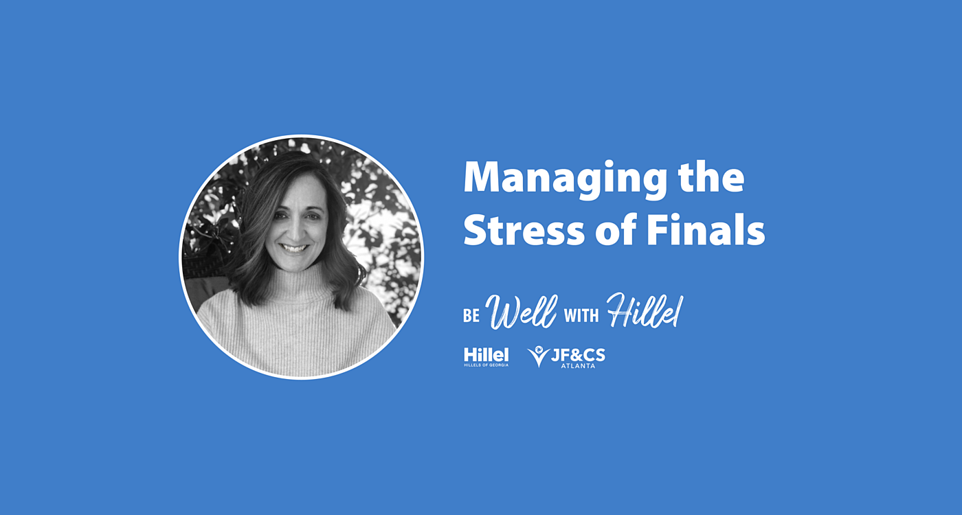 Managing the Stress of Finals