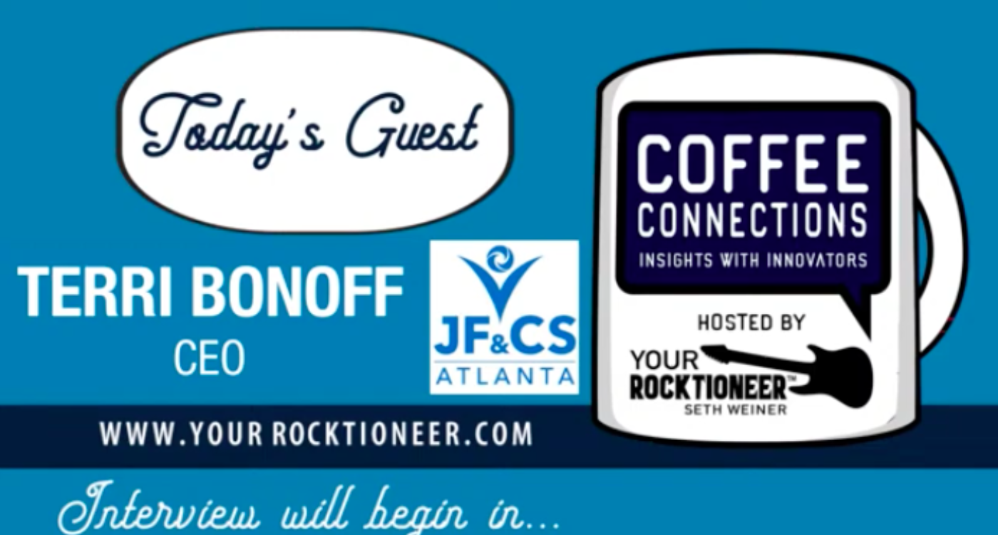 Terri Bonoff, CEO of JF&CS, Featured on Coffee Connections