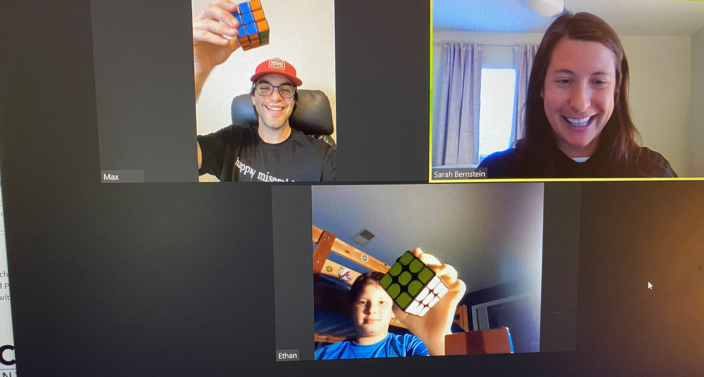 Max and Ethan Connect Through Love of Rubik's Cube