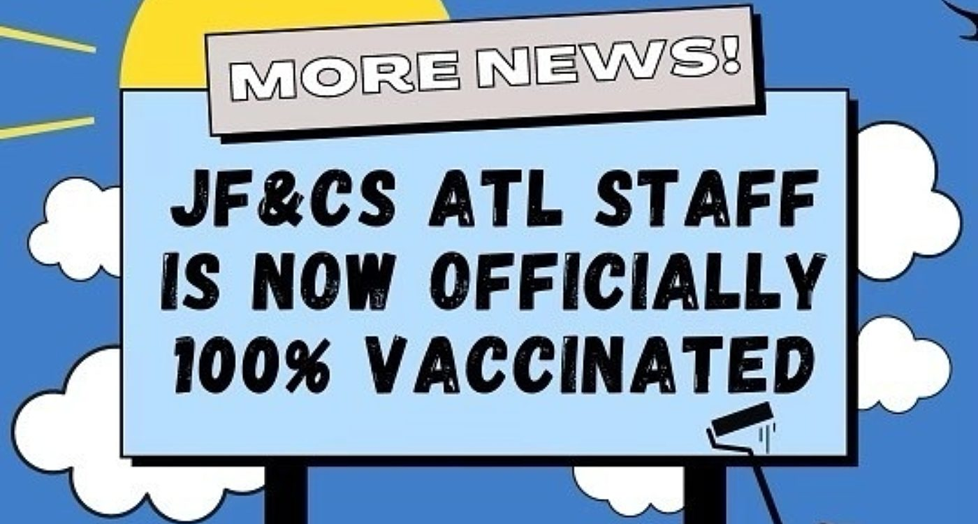 JF&CS Staff Are 100% Vaccinated