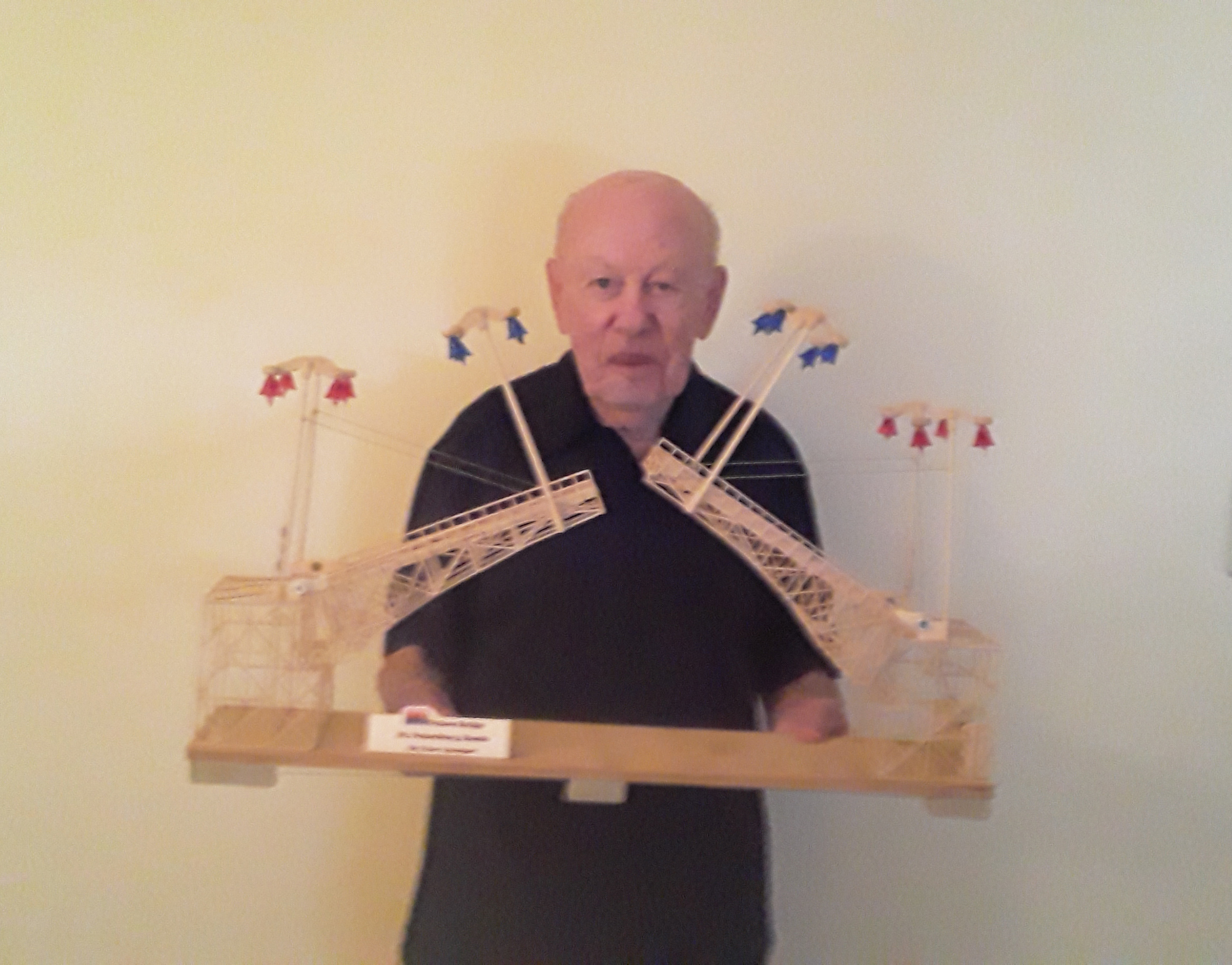 Survivor Spotlight: Yakov Ayzengart's Toothpick Structures