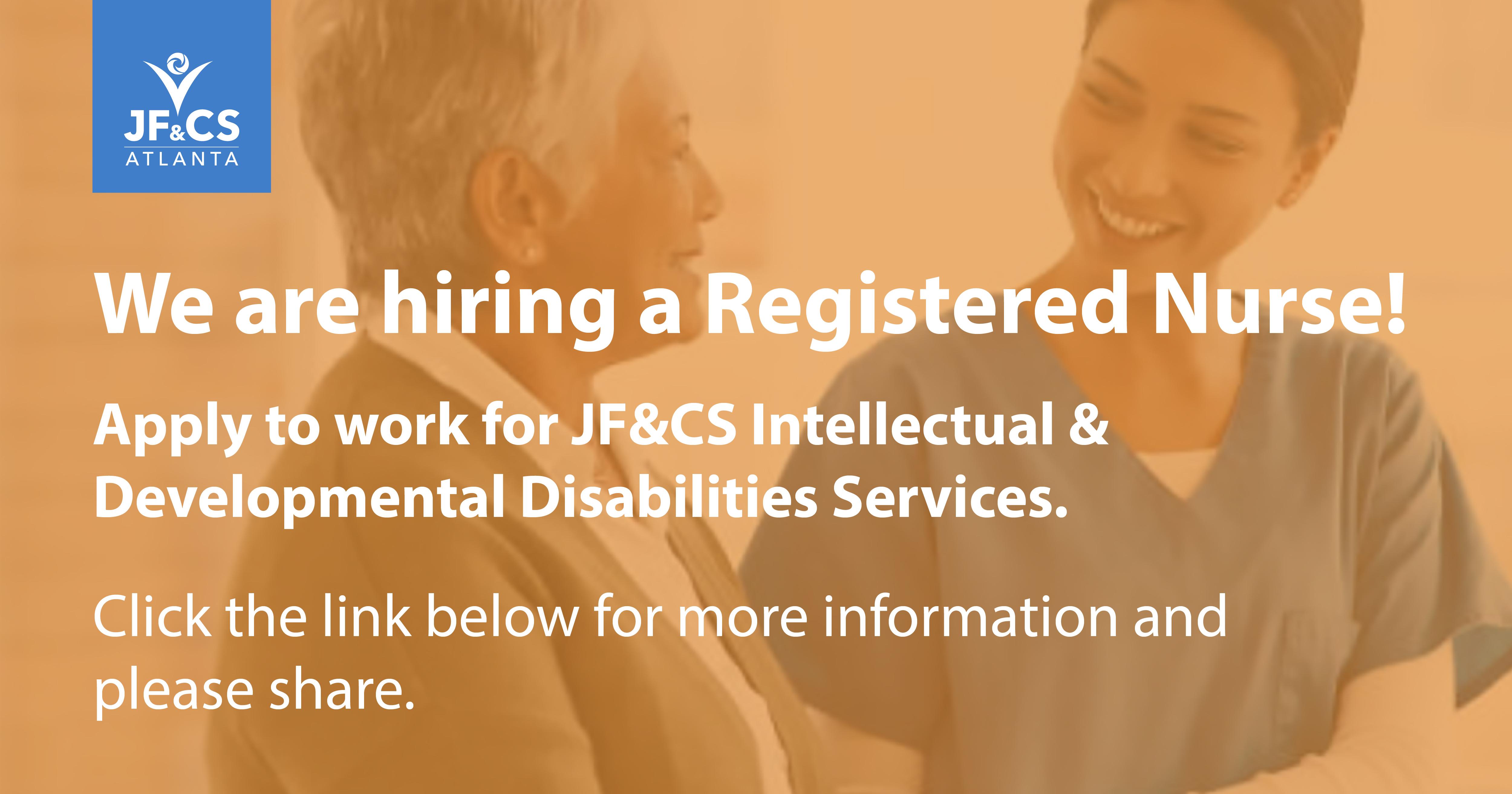 Jobs at JF&CS
